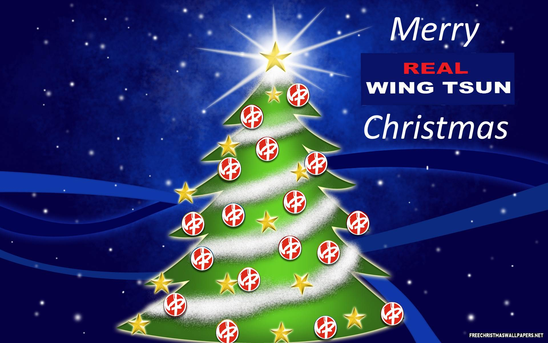 Merry Real Wing Tsun Christmas